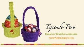 Download Canastas para huevos de Pascua tejidas en crochet (amigurumi) Video