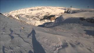 Download GOPRO Snowboarder Falling off Cliff Video