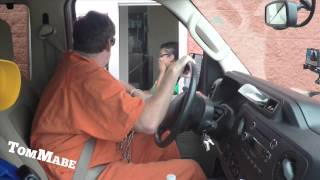 Download Prisoner Drive Thru Prank! - Tom Mabe Pranks Video