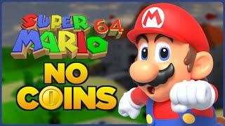Download Is it possible to beat Super Mario 64 without touching a single coin? Video