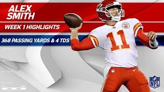 Download Alex Smith's 4-TD Performance vs. New England | Chiefs vs. Patriots | NFL Wk 1 Player Highlights Video