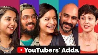 Download YouTube Creators Adda   Bhuvan Bam, Prajakta Koli, Sherry Shroff, Lisa Mishra, Sahil Khattar Video