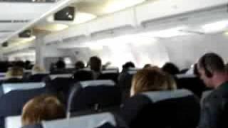 Download Flug mit Turbulenzen / turbulence Video