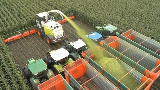 Download Modern Technology Agriculture Huge Machines Video