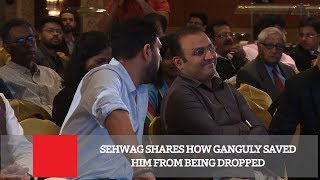 Download Sehwag Shares How Ganguly Saved Him From Being Dropped Video