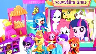 Download My Little Pony Equestria Girls Май Литл Пони Мультик MOVIE THEATER JUNIPER Девушки Эквестрии Игрушки Video