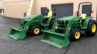 Download John Deere 3032e vs 3033r Tractor Comparison Video