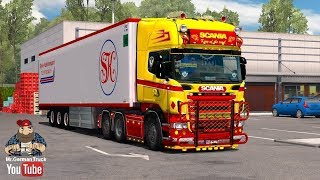 Download [ETS2 v1.28] Scania R & Streamline (RJL) Red & Yellow + Accessory Pack Video