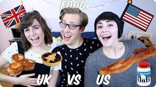 Download Food! British VS American | Evan Edinger & Dodie Clark & Savannah Brown Video