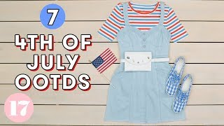 Download 7 Red White & Blue Outfits for 4th of July | Style Lab Video