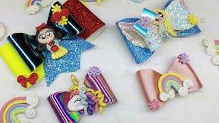 Download Moños de princesas con Vinil/ venta para el dia del niño Video