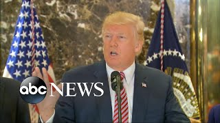 Download Donald Trump's news conference spirals out of control Video