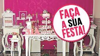Download Faça sua festa própria festa! - ideias baratinhas de decoração. Video