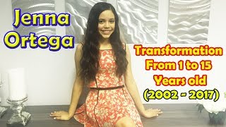 Download Jenna Ortega transformation from 1 to 15 years old Video