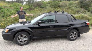 Download The Subaru Baja Turbo Is a Weird, Fast Subaru Truck Video