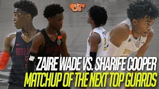 Download ZAIRE WADE vs. SHARIFE COOPER | MATCHUP of the NEXT TOP GUARDS Video