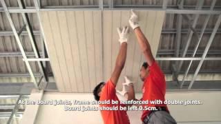 Download วิธีติดตั้งบอร์ดตราเพชรสำหรับงานฝ้าเพดาน Video