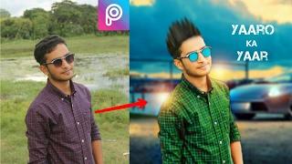 Download PicsArt Editing tutorial background change||picsart hindi||picsart straight hair||PicsArt|| Video