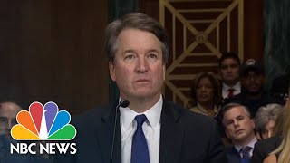 Download Lindsey Graham To Brett Kavanaugh: You Came To The Wrong Town For A Fair Process | NBC News Video