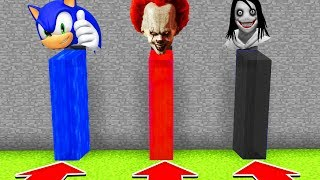 Download Minecraft : DO NOT CHOOSE THE WRONG WATERFALL (PENNYWISE,SONIC,JEFF THE KILLER)XboxOne/PE/MCPE) Video