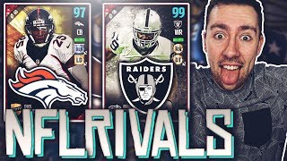 Download ALL NFL RIVALS SQUAD BUILDER! RAIDERS & BRONCOS! MADDEN 17 ULTIMATE TEAM Video