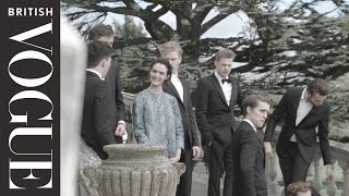 Download On Set with the Cast of the Riot Club: The Posh Test | All Access Vogue | British Vogue Video