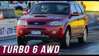 Download Turbo 6 AWD Ford Territory - 10.25 @ 137mph Video