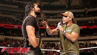 Download Seth Rollins interrupts Shawn Michaels: Raw, October 19, 2015 Video