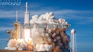 Download Why it took 5 years for the Falcon Heavy to fly Video