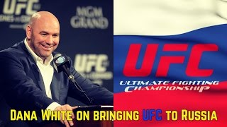 Download Dana White on UFC Russia, Romero vs Bisping makes sense; UFC 211 announced Video