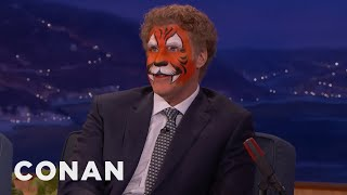 Download Will Ferrell Just Came From A Kid's Birthday Party - CONAN on TBS Video