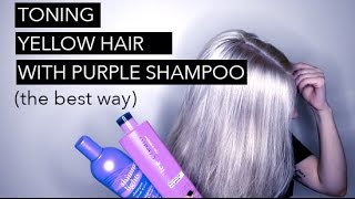 Download HOW TO TONE HAIR WITH PURPLE SHAMPOO Video
