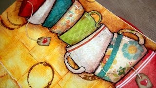Download Art journal : Take life one cup at a time Video
