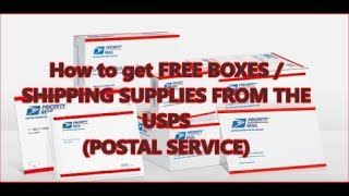 Download HOW TO GET FREE BOXES/SHIPPING SUPPLIES FOR YOUR EBAY BUSINESS PACKAGES / EBAY SHIPPING TIPS Video
