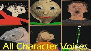 Download All Character Voices - Baldi's Basics in Education and Learning v1.2.2 Video