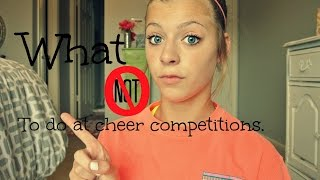 Download What not to do at cheer competitions Video