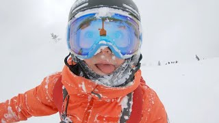 Download You Won't Believe What This 11-Year-Old Can Do On Skis at Jackson Hole Video
