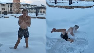 Download NAKED SNOW JUMPING! Video