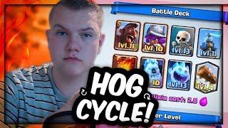 Download SUPER QUICK! 2.8 Hog Cycle Deck for Grand Challenges/Tournaments! - Clash Royale Video