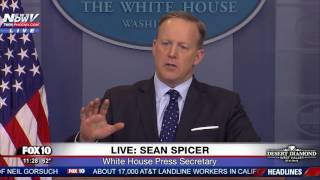 Download WOW: Sean Spicer GOES OFF On Reporter Over Russia Reporting On President Trump - FNN Video