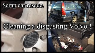 Download Cleaning a really dirty car - volvo v70 Video