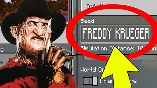 Download NEVER Play Minecraft The FREDDY KRUEGER WORLD! (Haunted ″Nightmare″ Seed) Video