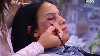 Download Moroccan TV Shows How To Hide Domestic Abuse With Makeup Video
