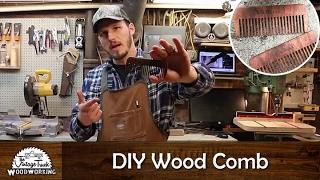 Download DIY - Making a Wooden Comb Video