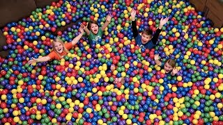 Download BALL PIT IN OUR HOUSE! | Surprising Mom Video