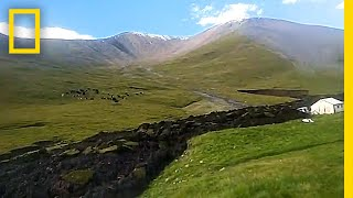 Download Bizarre 'Lava-Like' Landslide Tears Through Hillside | National Geographic Video