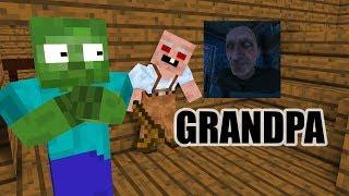 Download Monster School : GRANDPA HORROR GAME CHALLENGE - Minecraft Animation Video