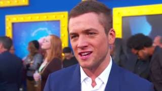 Download Sing Premiere Taron Egerton Interview Video