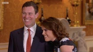 Download Jack Brooksbank first ever TV interview with Princess Eugenie. The One Show. Matt Baker. 22 Jan 2018 Video
