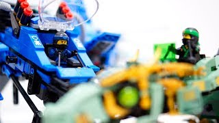 Download 【LEGO遊び&レビュー】レゴニンジャゴー 勝負だ!ライトニングジェット VS メカドラゴン !& 商品紹介【アナケナ&カルちゃん】 70614 Video